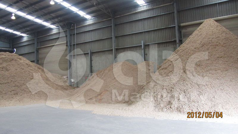 sawdust for pelletizing production