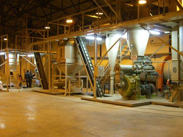 2TPH Saw Dust Pallet Plant in Slovakia