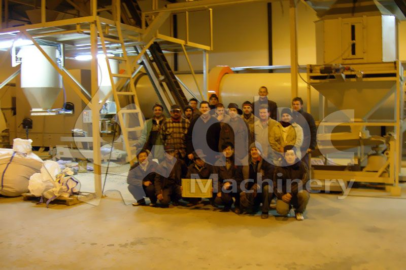 sawdust pallet manufacturing line photogroup