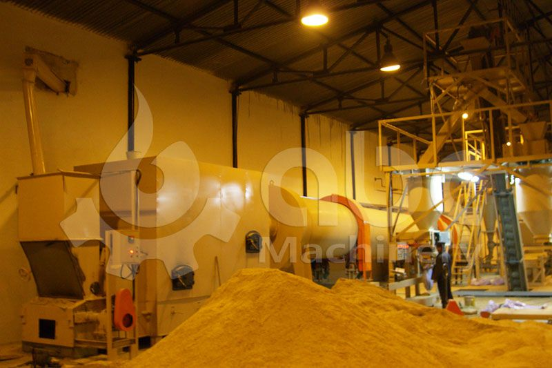 sawdust pallet plant project report