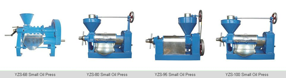 screw oil expeller press
