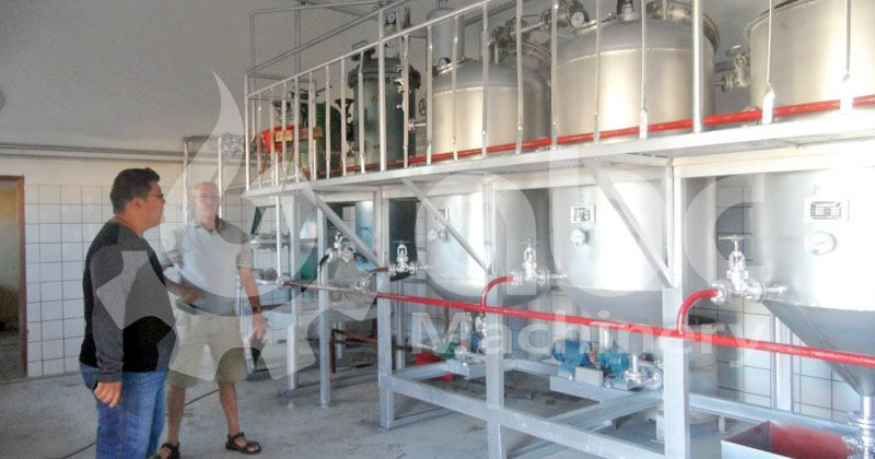 seal oil refinery plant - suitable for processing crude animal and fish oil