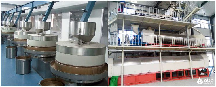 sesame milling and oil extraction plant