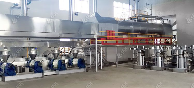 sesame oil production line cost