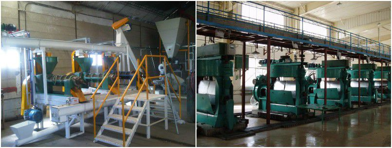 small scale and medium scale soybean oil extraction plant