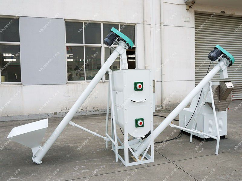 small animal feed machine unit designed for home user and farm user
