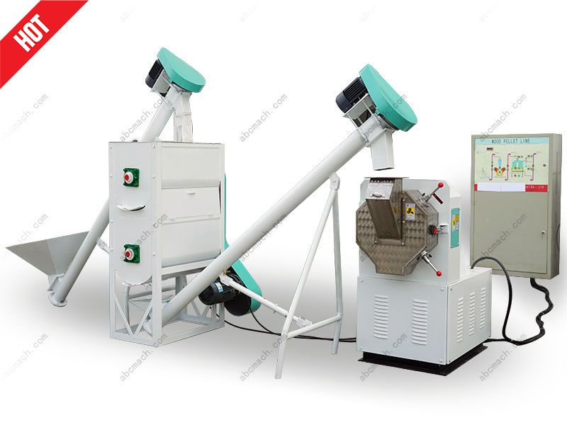 small animal feed making machine for farmers