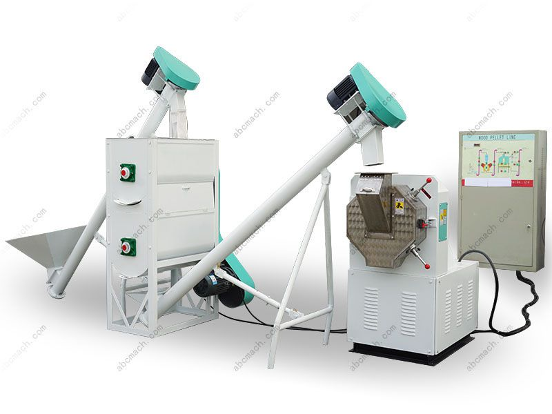 Ring Die Feed Pellet Production Unit