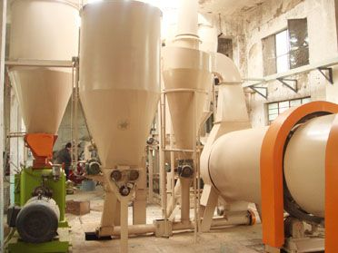 1.5TPH Biomass Pellet Mill Plant in Domestic