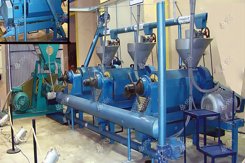 small castor oil extraction machinery