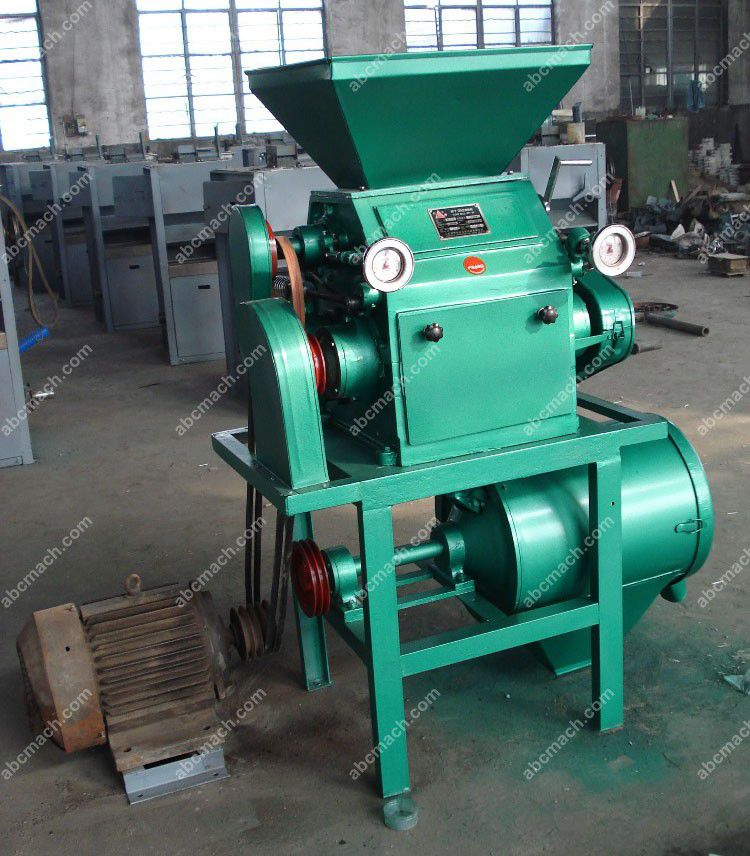 small cereal flour milling machine for mini production at home or on farm