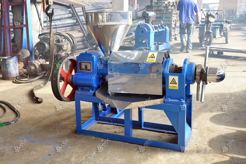 small coconut oil press machine for mini oil mill plant