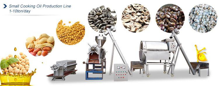 small edible oil pressing line