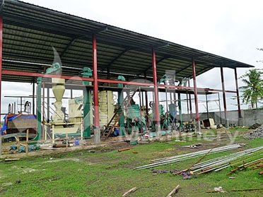 20TPD Copra Oil Mill Plant in Philippines