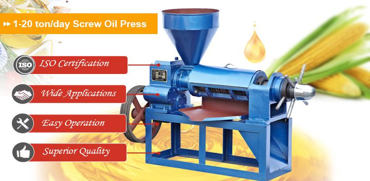 small corn oil processing machine for extract oil from corn germ