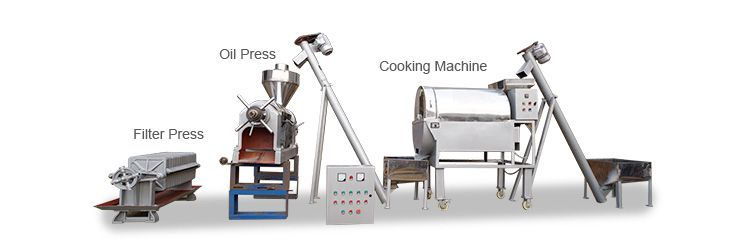 small cottonseed oil mill machinery set