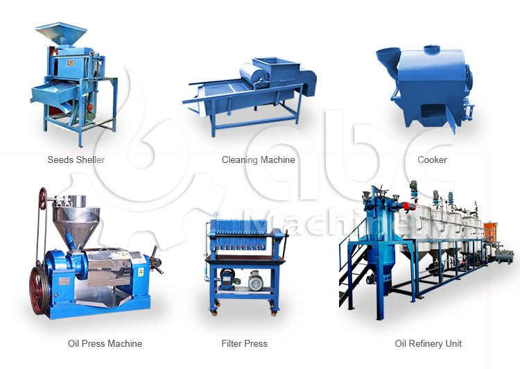 small cottonseed oil milling machinery - automatic mini oil pressing line