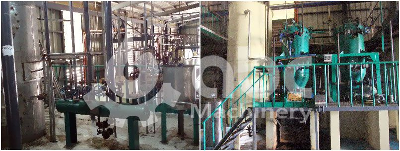 small edible oil refinery plant for crude coconut oil - competitive price