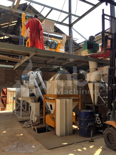 small production line of poultry feed manufacturing cost