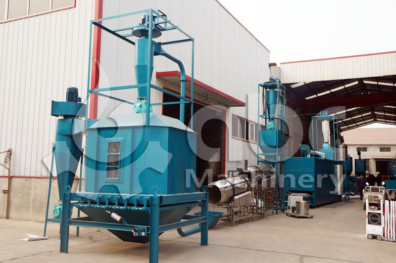 low cost fish feed machine set for small scale fish food production