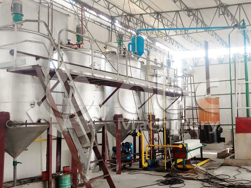 small fish oil refinery unit for sale