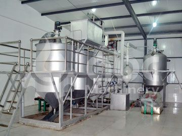 10tons per day Grape Seed Oil Refining Line