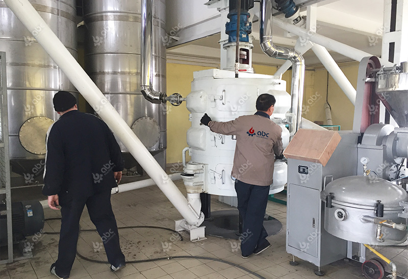 small groundnut oil mill plant