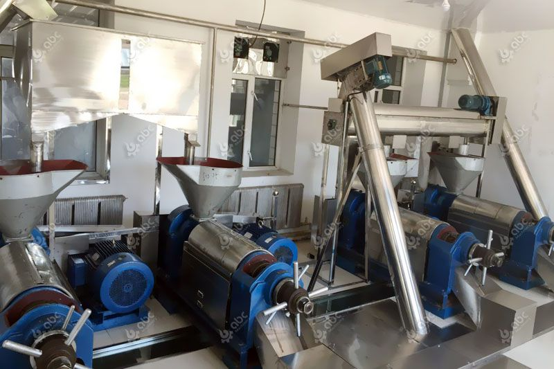 low cost small groundnut oil processing plant