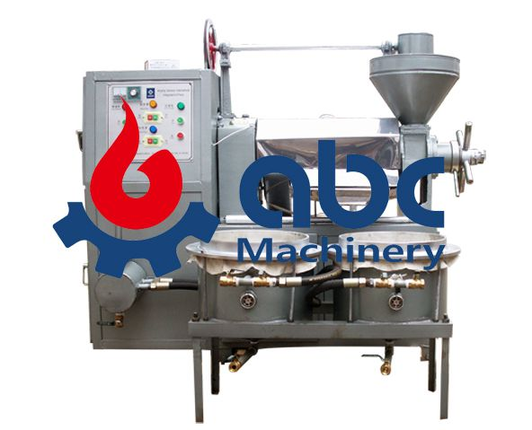 small integrated oil press machine available for cold oil pressing