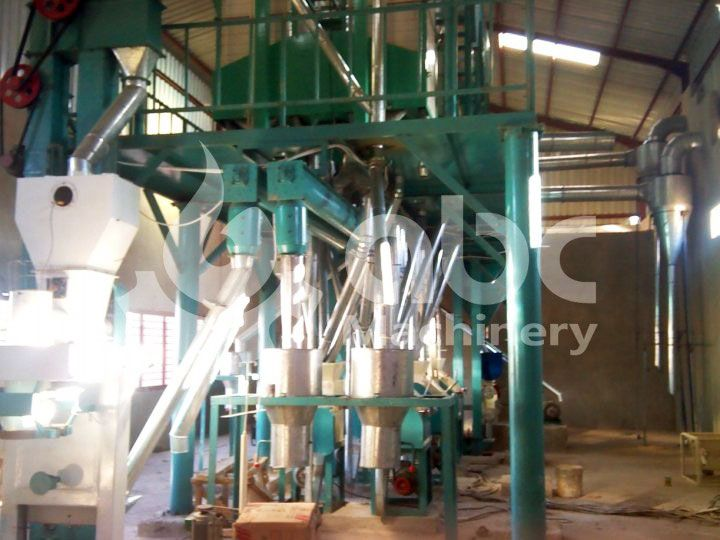 small maize milling plant
