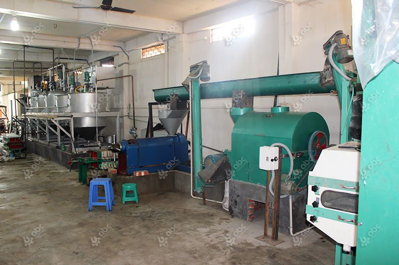 small mustard oil extraction and refinery machinery