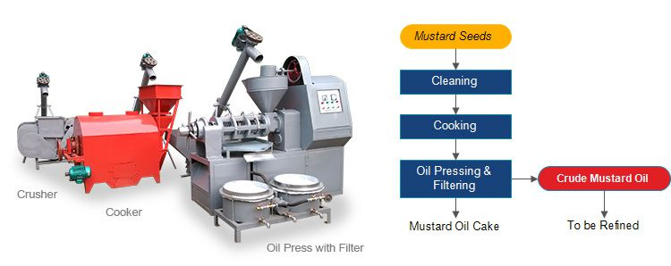 small mustard oil machinery