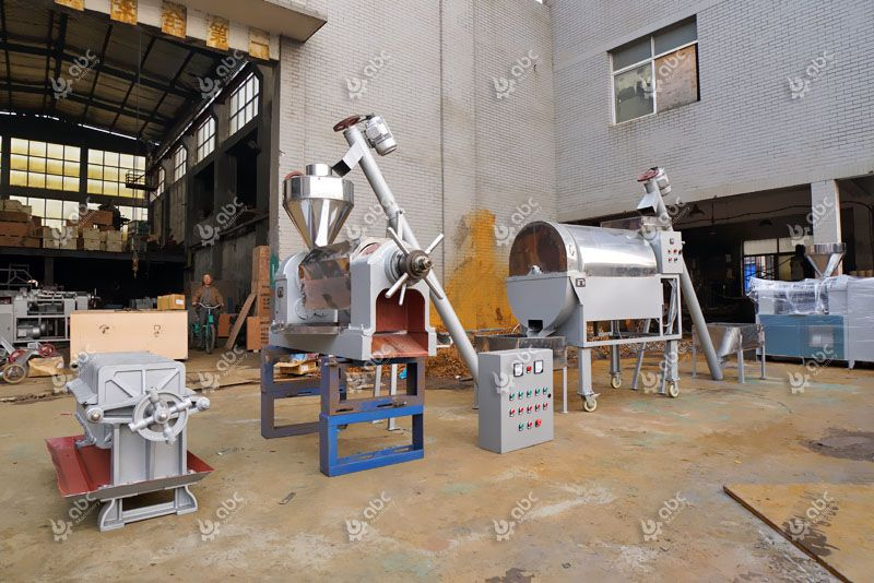 small musard oil mill plant with all equipment included