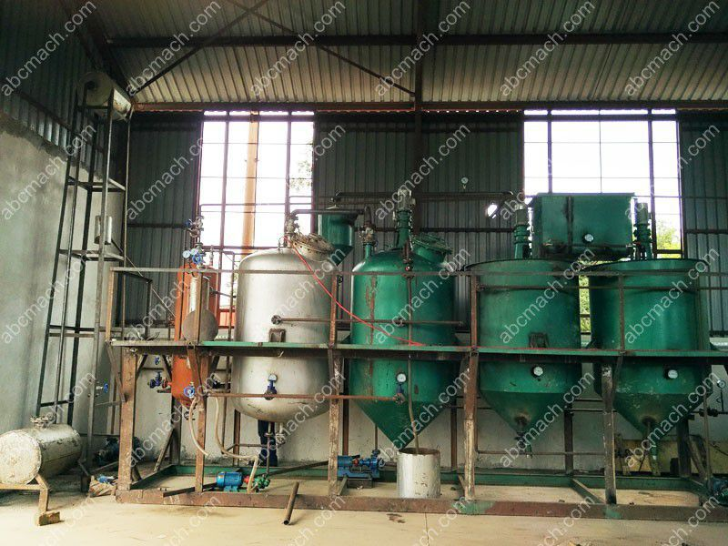 Small Oil Refining Unit