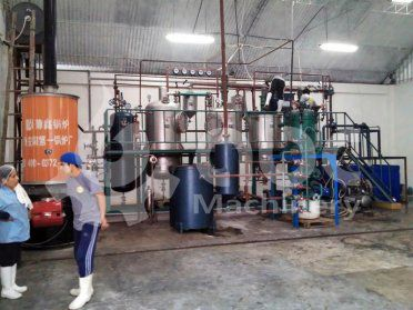 1TPD Mini Olive Oil Refinery Plant Built in Peru