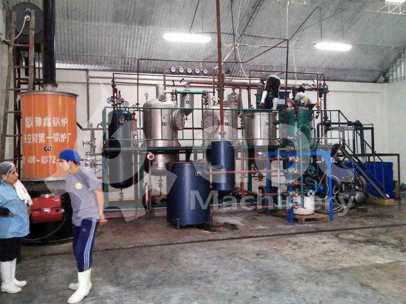 small olive oil refinery plant, low investment business plan