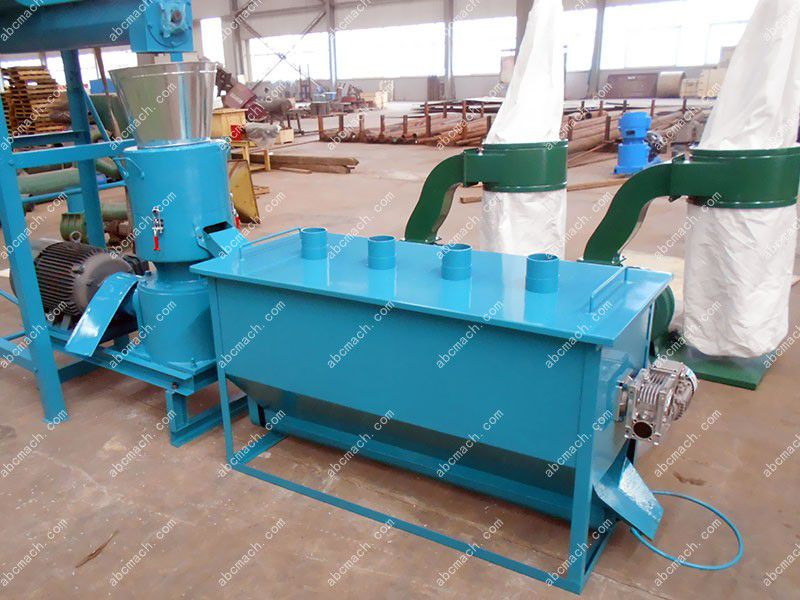 pellet cooling machine of the small feed production unit