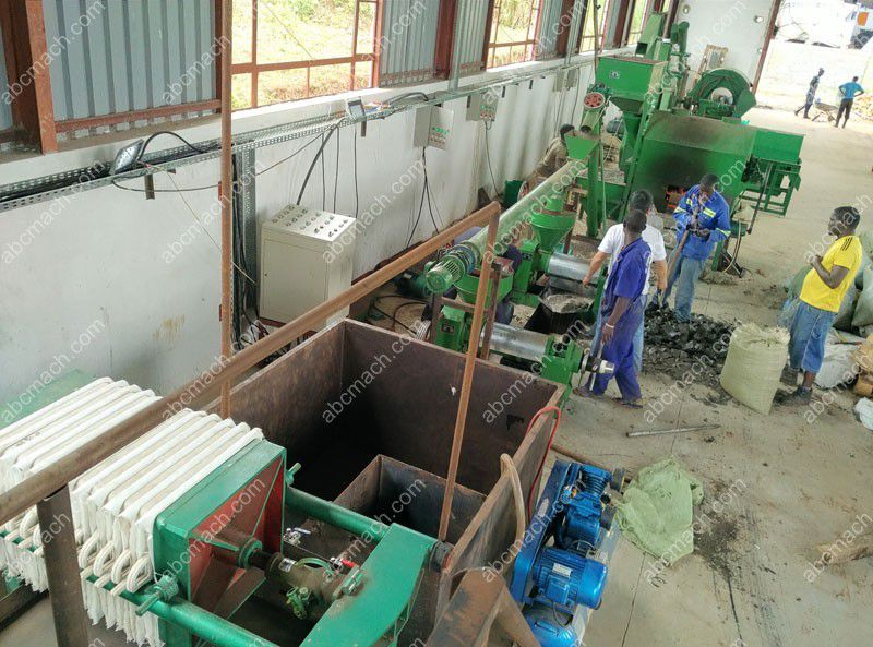 small scale cooking oil business