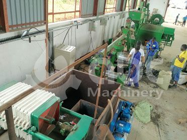 10tpd oil pressing and 3tpd refining plant in uganda