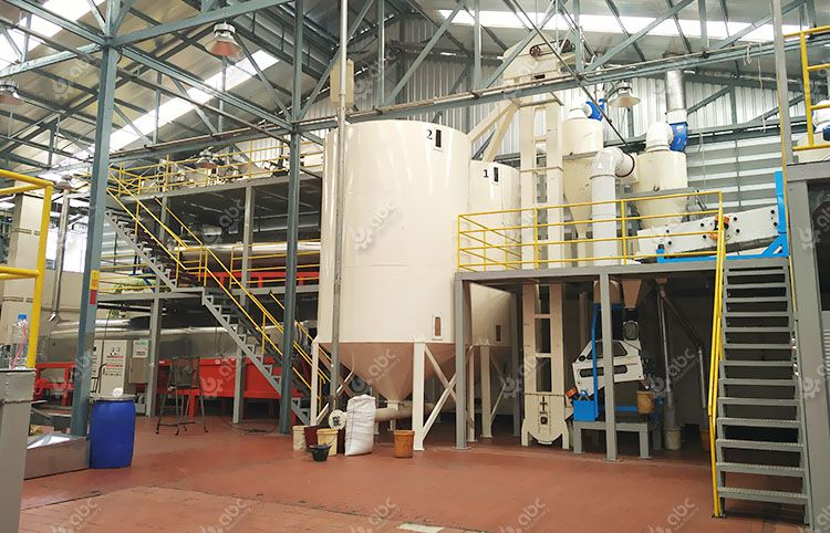 small scale roasted sesame oil mill plant in Thailand