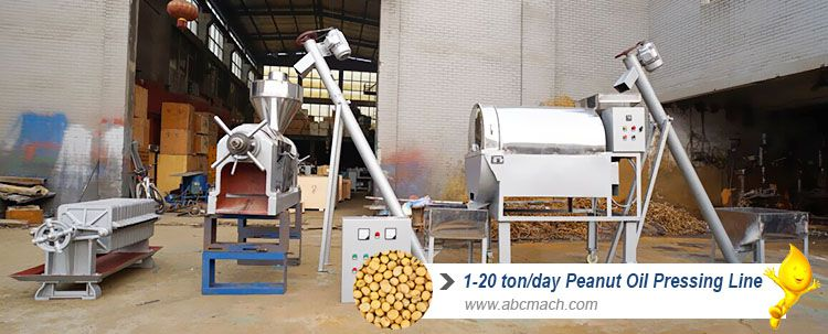 small soybean oil extraction plant at factory price