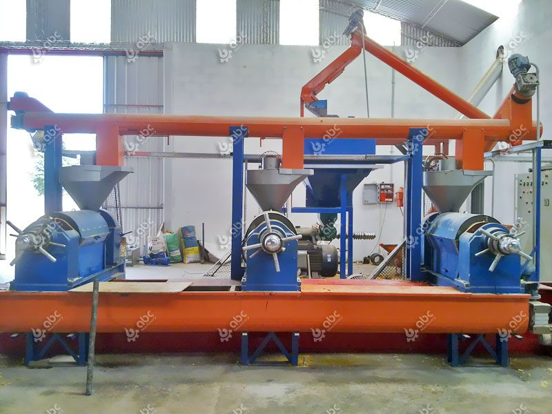 30 ton per hour small soybean oil processing line in Argentina