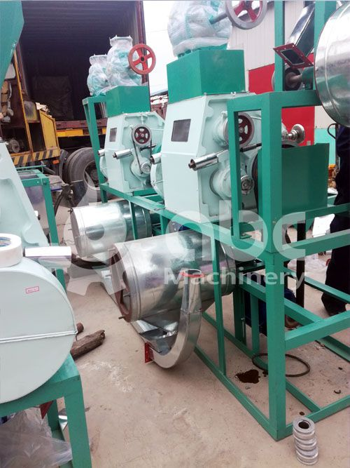 small wheat flour making machine for mini barley milling production