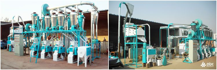 wheat flour mill machine for small business