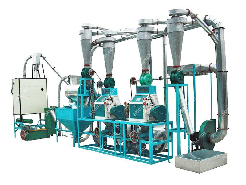 M6FTY-10 Wheat / Maize Flour Milling Machinery