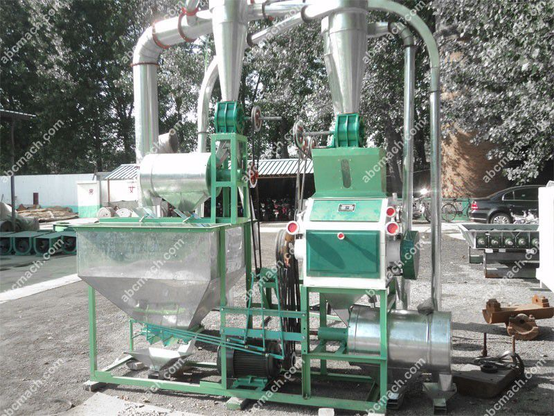small wheat grinding machine for milling grain, maize, rice