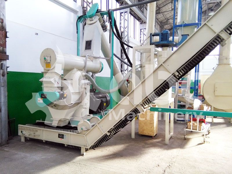 small wood pelleting plant for sale low cost project