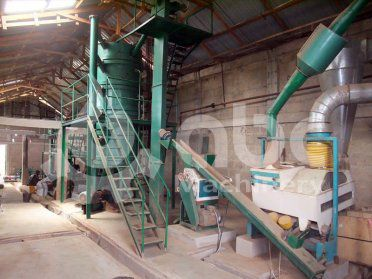 25TPD Soya Bean Oil Mill & 5TPD Refinery Project in Ghana