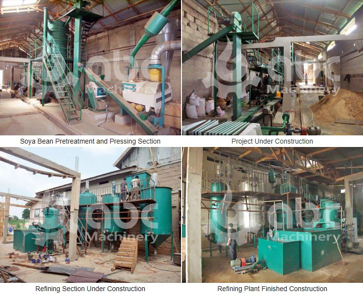 soya oil extraction plant
