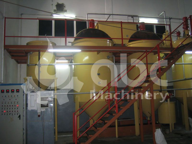 soyabean oil refinery machinery for small sized factory mill